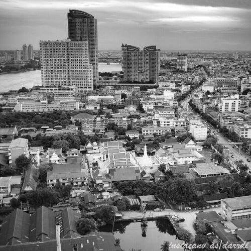 bangkok-bw