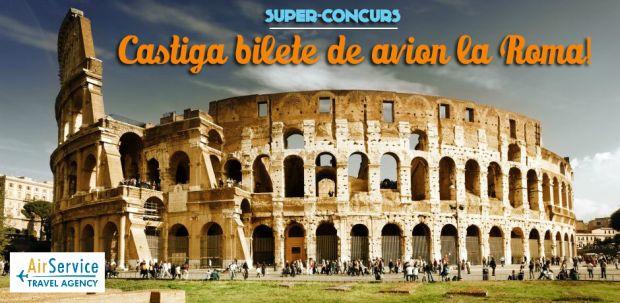 concurs carpatair  SUPER CONCURS! Castiga bilete de avion la Roma! concurs carpatair