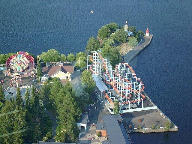 Parcurile tematice din Finlanda Sarkanniemi