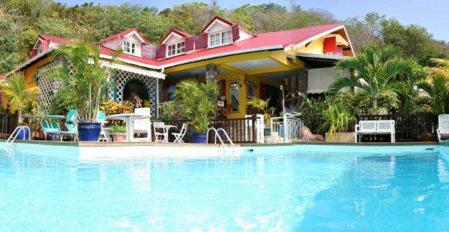 3 hoteluri de vis din Caraibe auberge