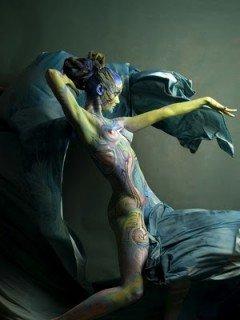 10 locuri unde poti umbla gol in 2011 (2) body painting