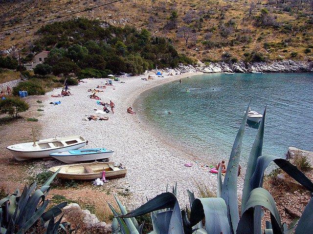 croatia Cele mai bune plaje din Croatia Dubovica1