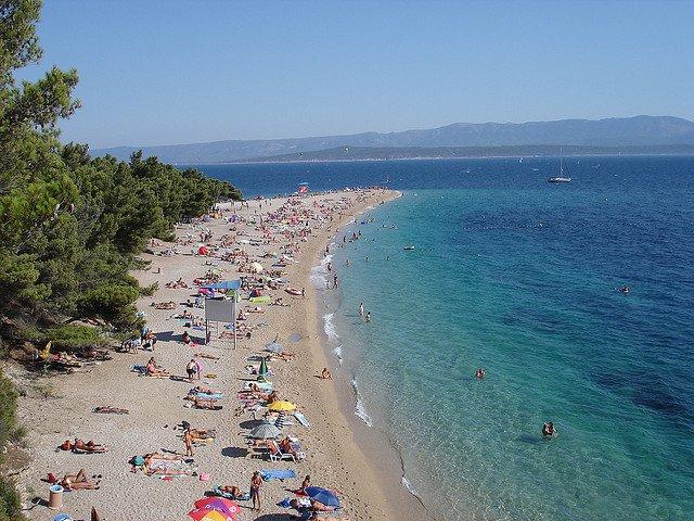 croatia Cele mai bune plaje din Croatia Zlatni Rat
