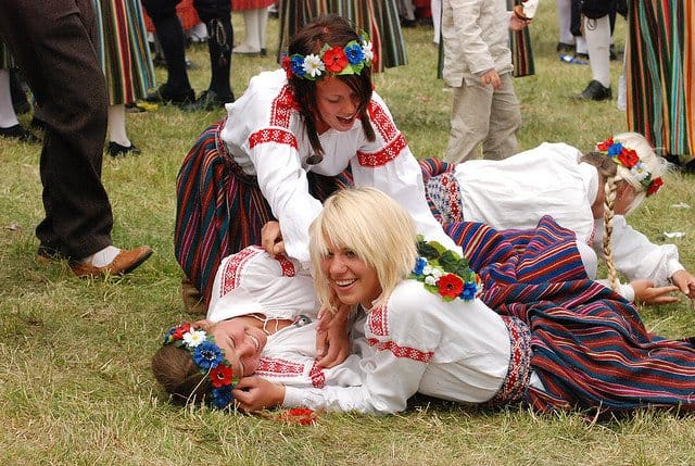 Obiceiuri sociale in Estonia estoniene