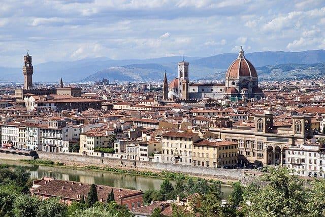 florenta Lucruri gratis pe care le poti face in Florenta Piazzale Michelangelo