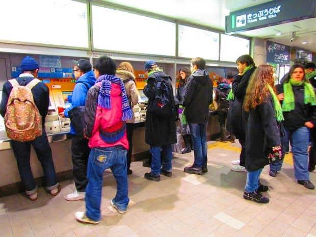 Transporturile in Japonia: precizie si aglomeratie bilete