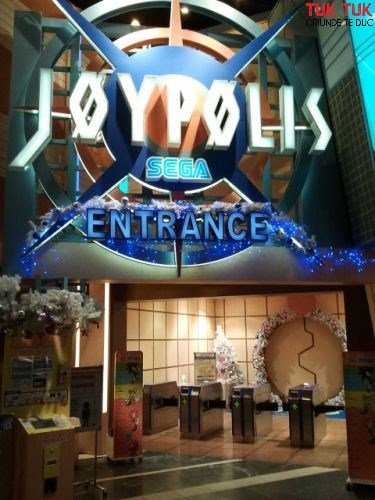 Tokyo: trenul Yurikamome si Odaiba joypolis wm