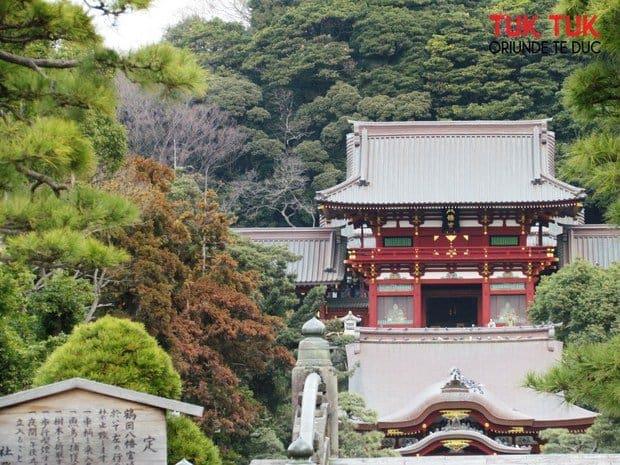 Kamakura – altarul shinto Tsurugaoka Hachimangu si strada Komachi IMG 1096