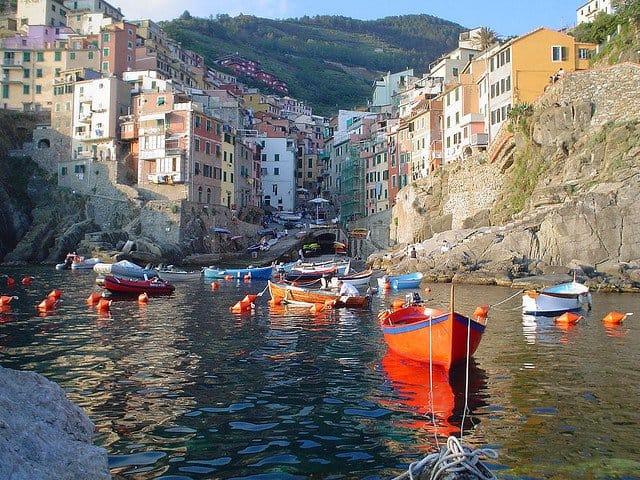 Cinque Terre - paradisul Italiei Riomaggiore