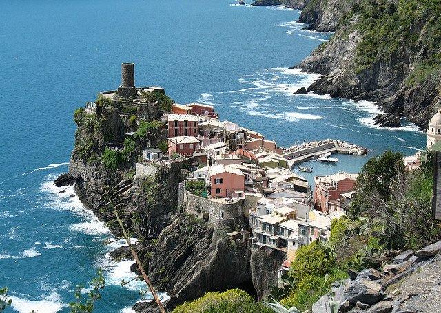 Cinque Terre - paradisul Italiei Vernazza 1