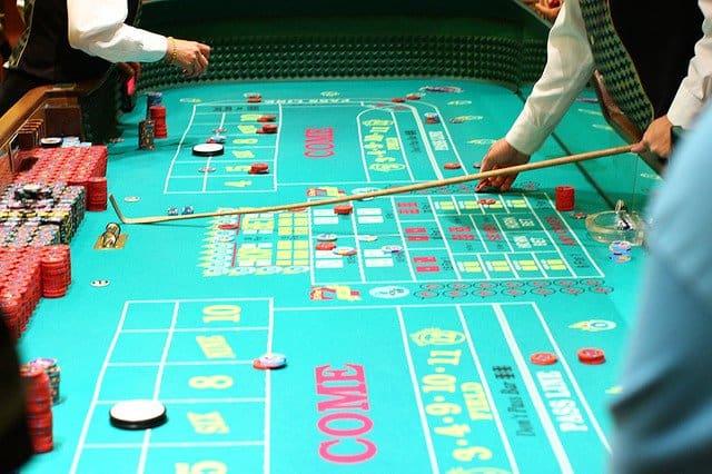 Jocurile de noroc in Las Vegas craps