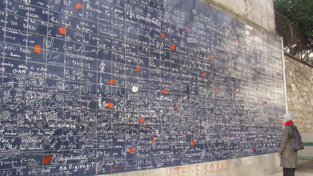 Parisul in 5 pasi relaxanti mur damour