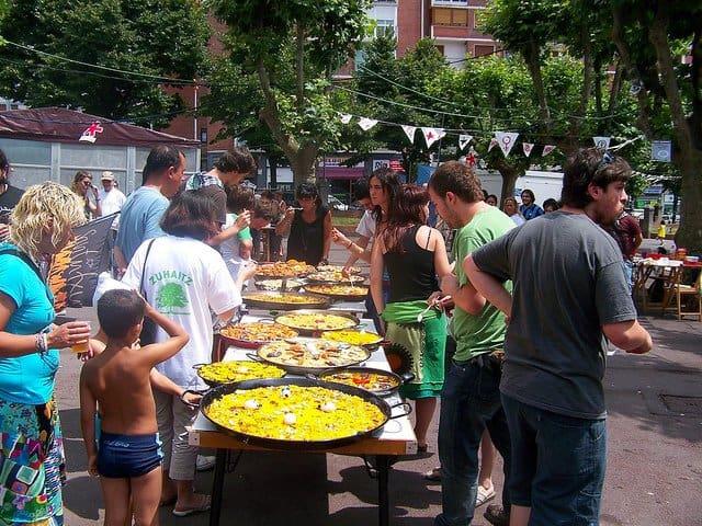 Mancarea spaniola - un deliciu paella people