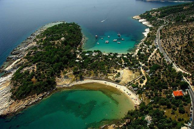 Insulele grecesti: Thassos ayiki