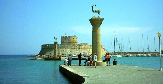 rhodos Insulele grecesti: Rhodos colosul