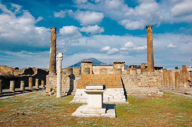 doua saptamani in italia pompeii