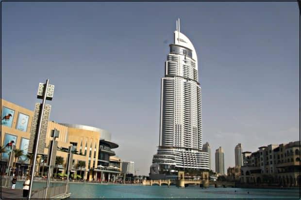 Cele mai inalte hoteluri din lume Address Downtown