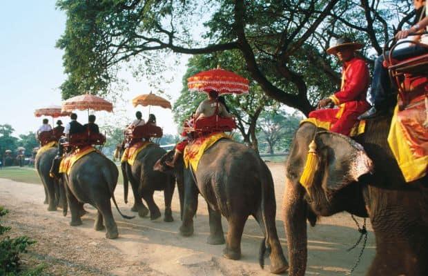 10 mijloace de transport, unice in lume Elephant Trekking