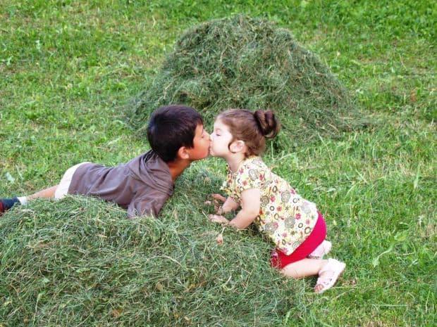Concurs HP: castigatoarea si Top 20 fotografii dragoste la iarba verde