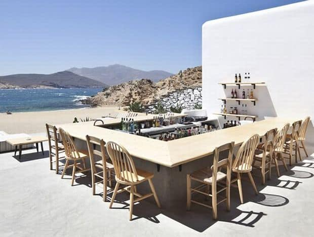 Restaurante cool: Alemagou, Mykonos alemagou