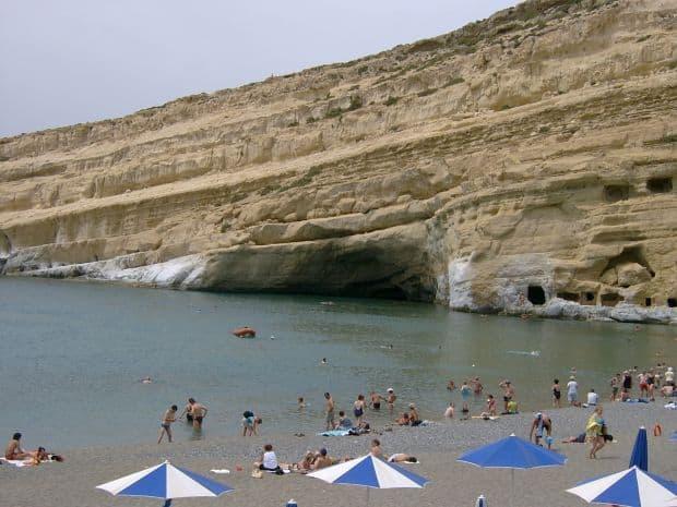 plaje grecia Top 10 insule si plaje din Grecia matala