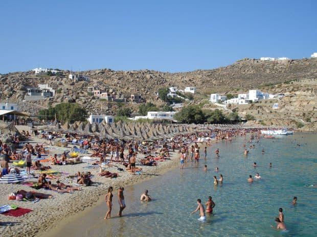 plaje grecia Top 10 insule si plaje din Grecia mykonos paradise