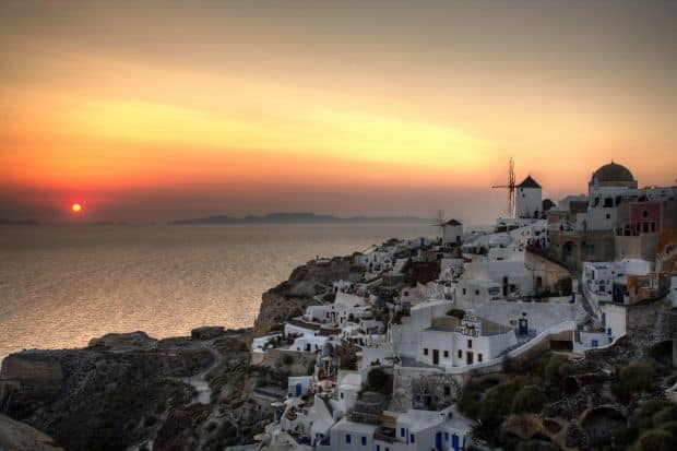 plaje grecia Top 10 insule si plaje din Grecia santorini