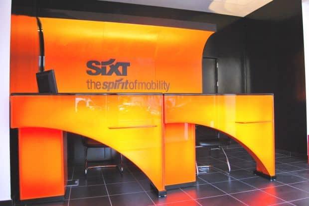 Sixt Rent a Car: 25% in plus pentru 2011! Sixt inside