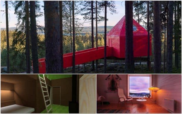 Hoteluri cool: Treehotel, Suedia tree