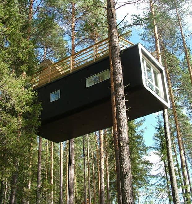 Hoteluri cool: Treehotel, Suedia treehotel6
