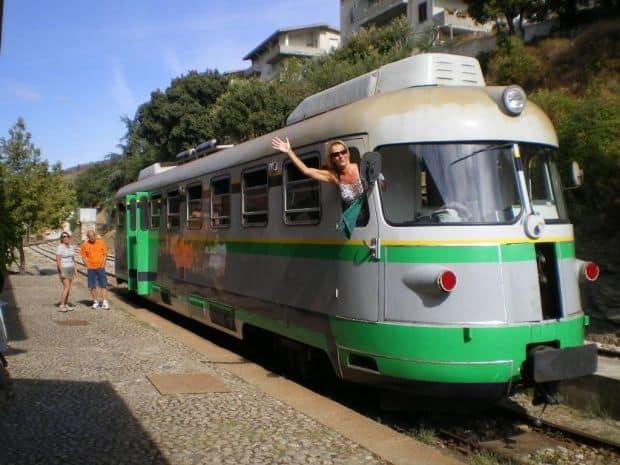 Minighid de calatorie in Sardinia trenino verde