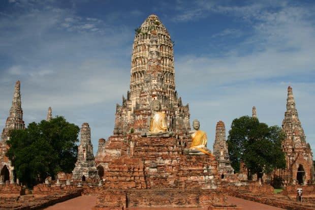Cele mai uimitoare ruine ale lumii Ayutthaya