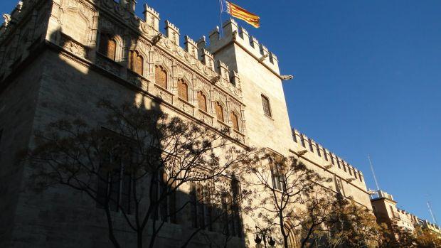 valencia Valencia, un superb oras maur Lonja de la Seda