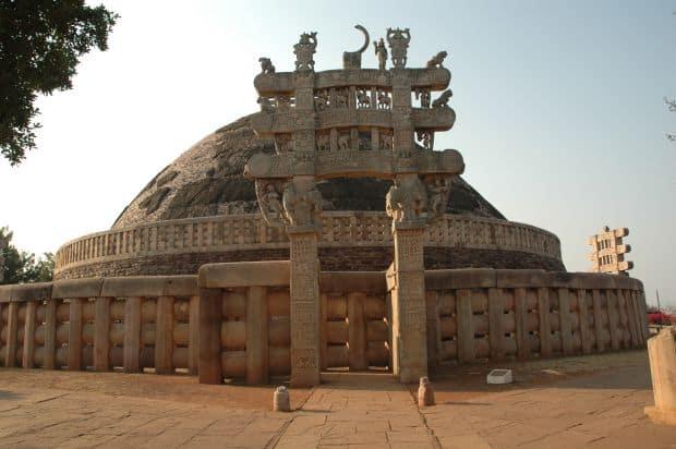 Cele mai uimitoare ruine ale lumii Sanchi Stupa