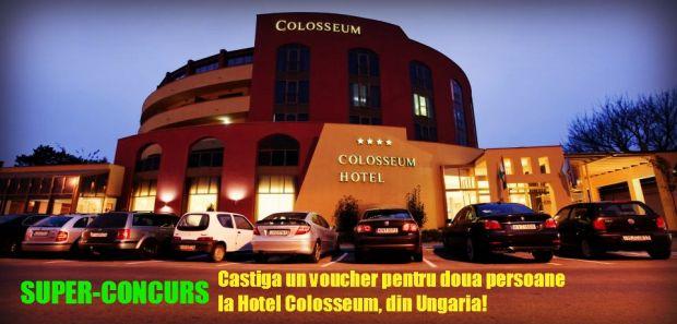 SUPER-CONCURS! Castiga un minisejur la Colosseum Hotel **** din Ungaria! colosseum2