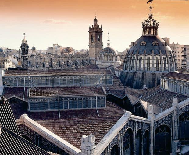valencia Valencia, un superb oras maur mercado