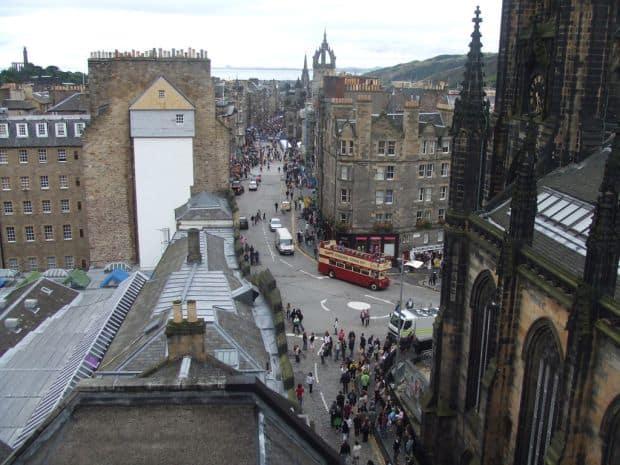 Intalnire cu fantomele orasului Edinburgh royal mile