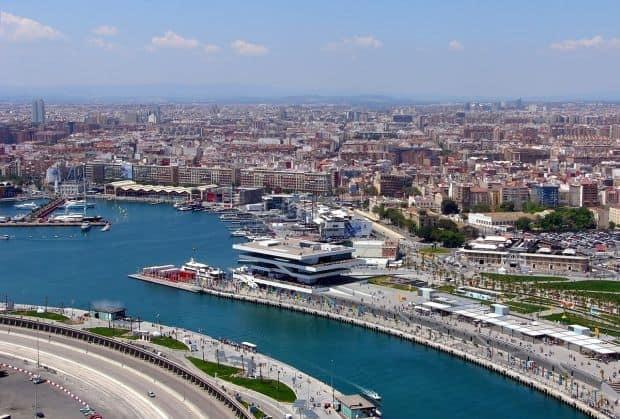valencia Valencia, un superb oras maur valencia port