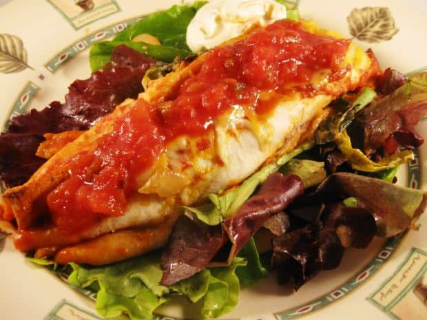 Top 10 tari din punct de vedere gastronomic enchilada