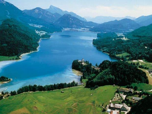 3 super-orase pe malurile lacurilor din Austria fuschl