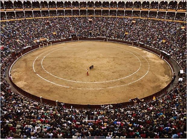 Luptele de tauri din Madrid las ventas madrid