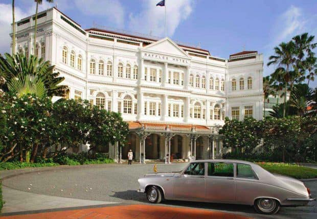 Atractii turistice in Singapore raffles