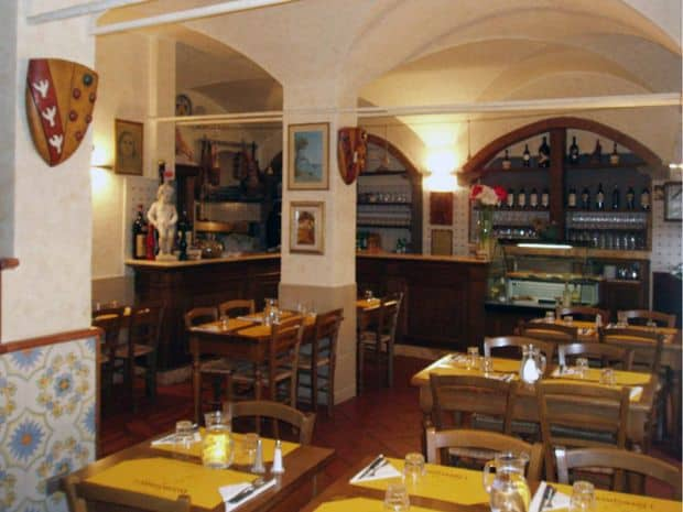 Top 10 restaurante din Florenta Lorenzaccio