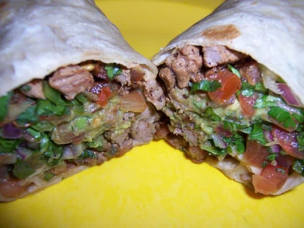 Retetele lumii: carne asada (America latina) carne asada burrito1