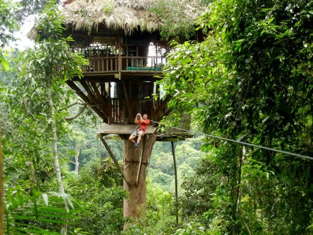 Laos, intr-o saptamana gibbon