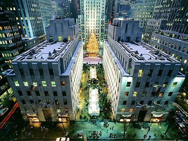Idei pentru petrecerea vacantei de Craciun new york christmas