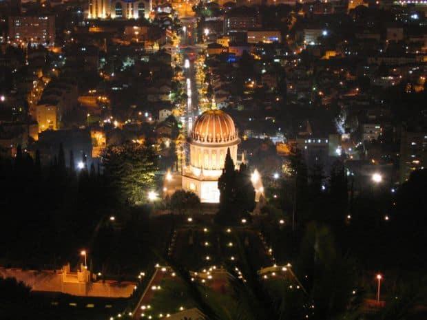 haifa Ce sa faci si ce sa vezi in Haifa templul bahai