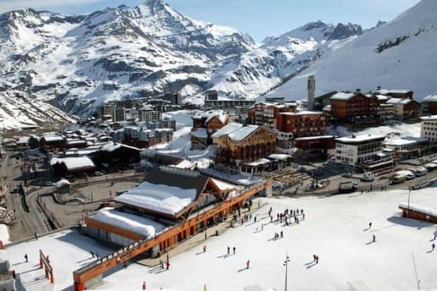 5 statiuni de schi ieftine tignes