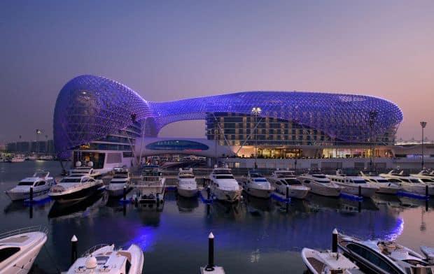 Hoteluri cool: Yas Hotel (Abu Dhabi) yas