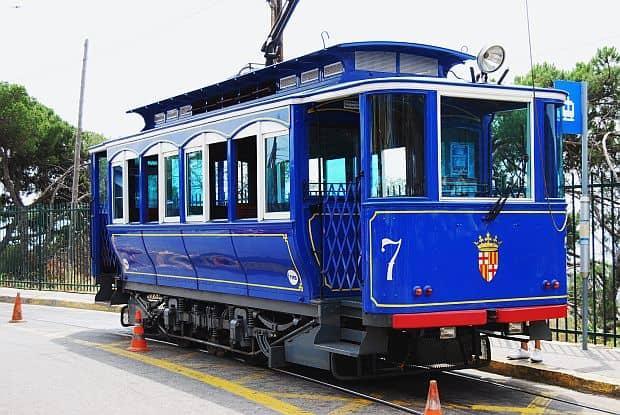 Transportul in Barcelona Tramv  a Blau